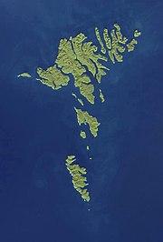 Faroe Islands NASA satellite image