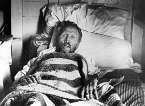 Father Damien - Father Damien on his deathbed
