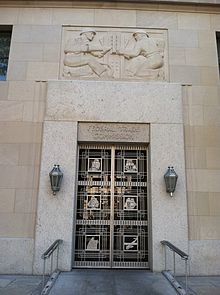 Federal Trade Commission Entrance Doorway In Washington DC