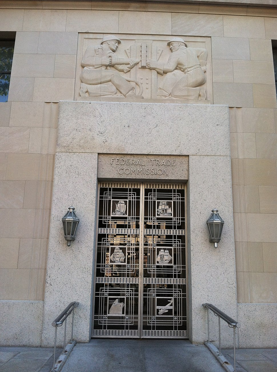 Federal Trade Commission Entrance Doorway