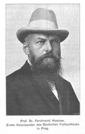 Ferdinand Hueppe - Ferdinand Hueppe (1852-1938)