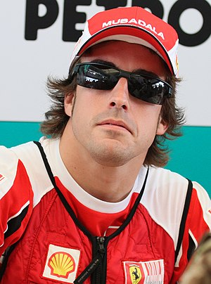 2010 FIA Formula One World Championship - Fernando Alonso placed second in the Drivers' Championship