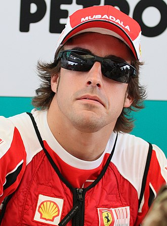 2010 Formula One World Championship - Fernando Alonso placed second in the Drivers' Championship
