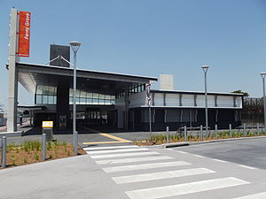 Ferny Grove railway station - Station front in October 2012