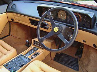 Ferrari Mondial - Mondial 3.2 Coupe interior