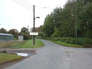 Thearne village in United Kingdom