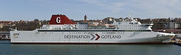 Gotlandsfärjan mellan Visby-Stockholm