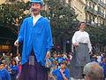 Festa Major de Gràcia 2011 - Gegants de Sants - XIII cercavila de cultura popular - carrer Gran P1330076.jpg