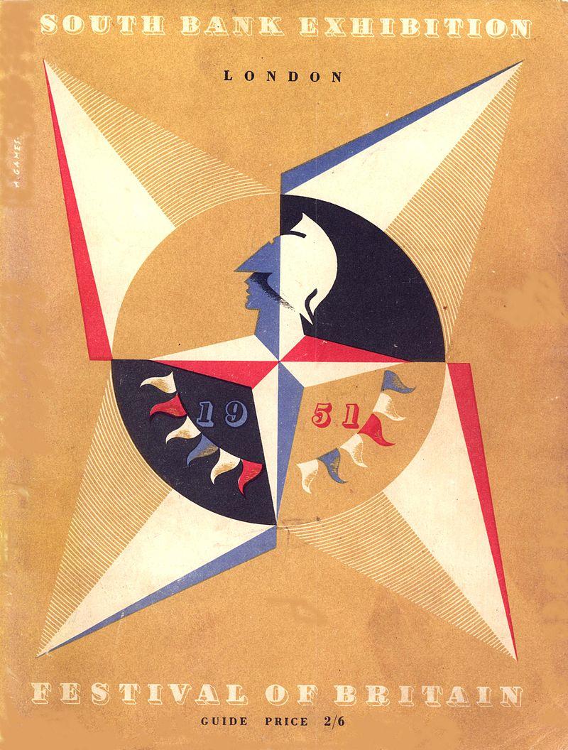 5 shillings 1951, Reino Unido. Feliz Sant Jordi!! 800px-Festival_of_Britain