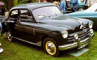 Fiat 1400 and 1900 - 1951 Fiat 1400 Berlina