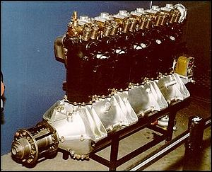 Fiat A.12 - Preserved Fiat A.12 engine