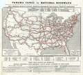 Fifty Thousand Miles of National Highways Proposed by the National Highways Association, 1914 WDL11551.png
