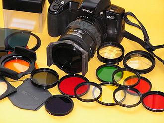 Color vision - Image: Filterstef