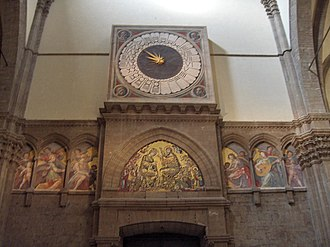 Paolo Uccello - Clock in the Duomo, Florence