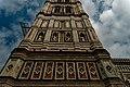 Firenze - Florence - Piazza del Duomo - View on the South Side of il Campanile di Giotto II.jpg
