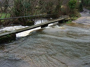River Culm - Image: First ford of the River Culm