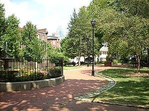 Fitler Square, Philadelphia - Fitler Square - Summer 2007