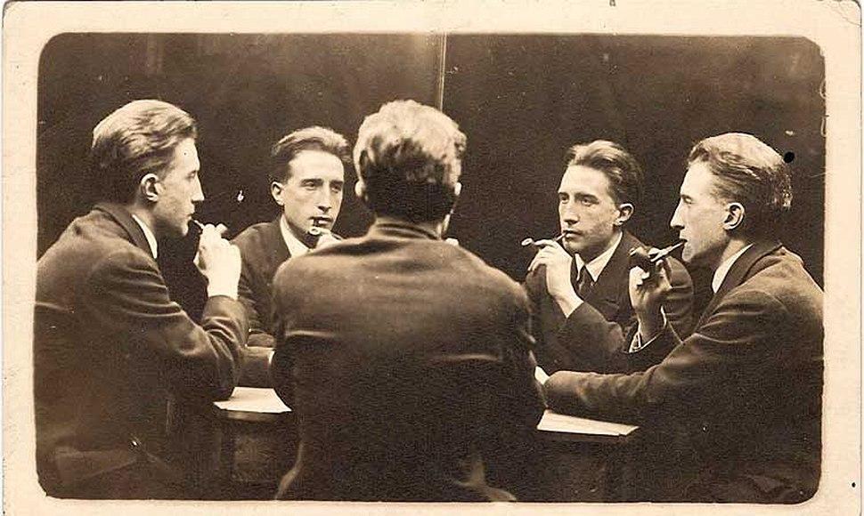 Five-Way Portrait of Marcel Duchamp, 21 June 1917, New York City