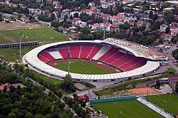 Rajko Mitić Stadium viewed from the air 50f7bef99