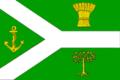 Flag of Mezhdurechensky rayon (Vologda oblast) (2001).png