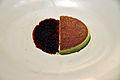 Flickr - cyclonebill - Mousse af havesyre og granité af hybenrose og rødbede.jpg