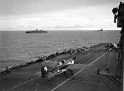 Flightdeck of HMS Formidable