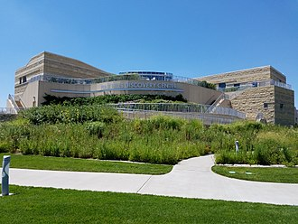 Flint Hills Discovery Center - The Discovery Center features native prairie plants in its landscaping
