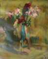 Flowers in a milk bottle by Christopher Willard.png
