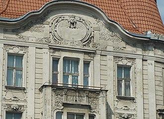 Max Zweininger Building - Image: Focha 2 details