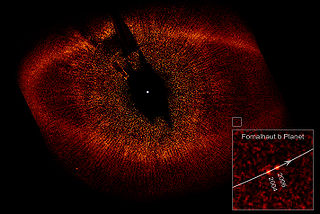 "Fomalhaut and and the ""exoplanet"" Fomalhaut-b - ""Eye of Sauron"" picture"