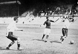 Football at the 1912 Summer Olympics - UK v.s. Hungary.JPG