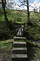 Footbridge over Turnhole Clough - geograph.org.uk - 1282361.jpg