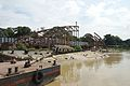 Footbridge under Construction - Babu Ghat - Hooghly River 2016-10-11 0281.JPG