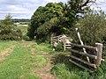 Footpath to Moretonhampstead - geograph.org.uk - 1467646.jpg