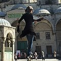 Forced perspective Istanbul blue mosque.jpg