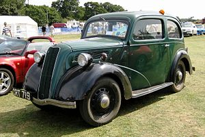 Ford 7Y - Image: Ford 8 (7Y bodied version) 1937