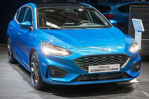 Ford Focus EcoBoost Hybrid IAA 2019 JM 1050