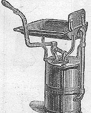 Forge portative XIXesiècle