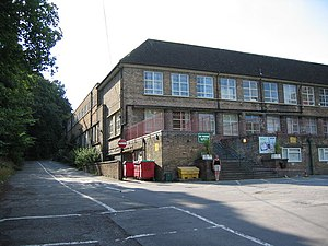 Abbeydale Grange School - The former Upper School site in August 2003