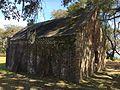 Fort Johnson - colonial outbuilding - back corner.JPG