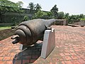Fort of San Antonio Abad - southeastern cannon 3.JPG