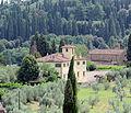 Forte belvedere, vista su villa di arcetri e san leonardo.JPG