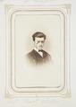 Fotografiporträtt på Curt Wallis, 1860-tal - Hallwylska museet - 107799.tif