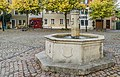 Fountain on Marienplatz in Naumburg 01.jpg