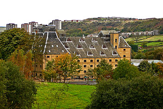Webster's Brewery - The Old Maltings, since converted into a school, nursery and community centre.
