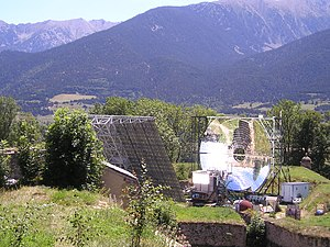 Mont-Louis - Solar furnace of Mont-Louis
