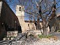 Fox-Amphoux église et la place.JPG
