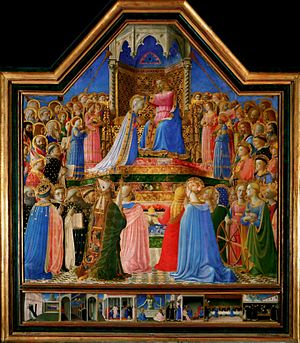 Coronation of the Virgin (Fra Angelico, Louvre)