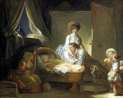 Jean-Honoré Fragonard: A Visit to the Nursery