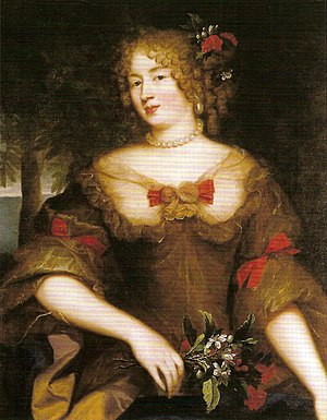 Françoise-Marguerite de Sévigné - Portrait of the Countess of Grignan by Pierre Mignard (1610-1695)